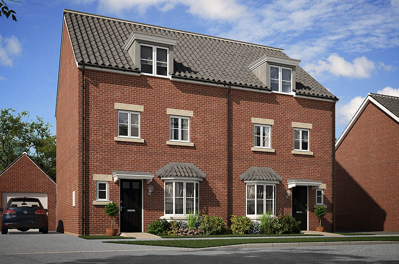 St lythans park a collection of new show homes