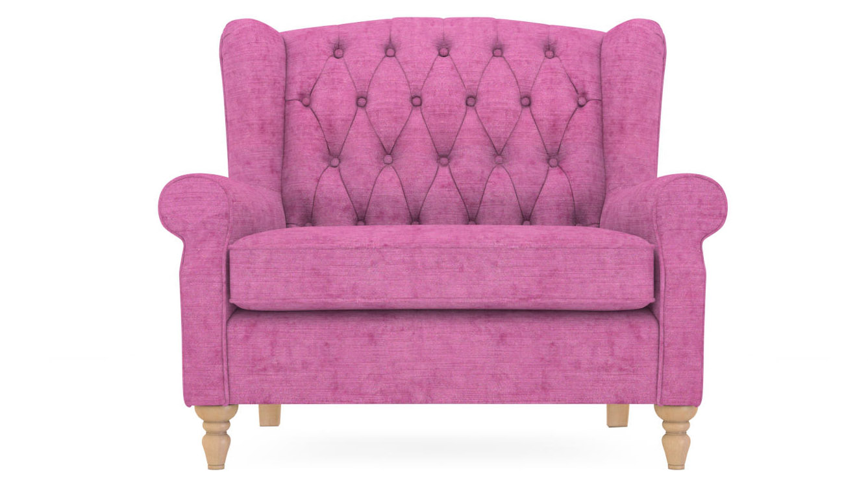 Pink snuggle seat