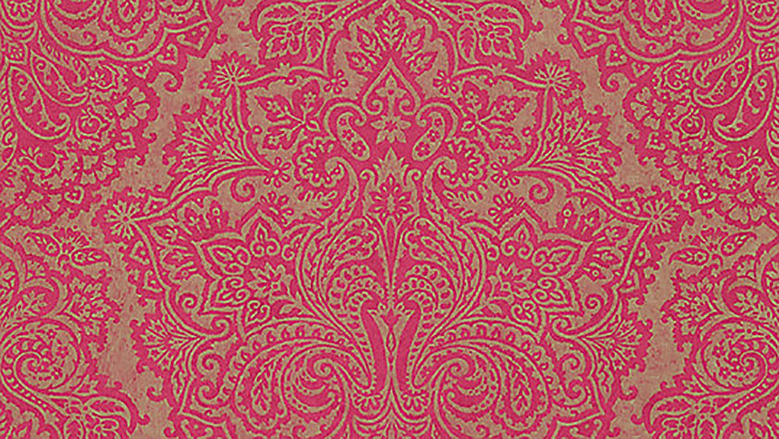 Pink and gold Harlequin Lucido Venezia wallpaper