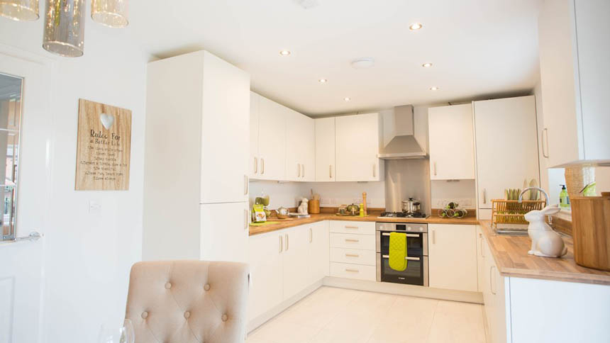 New Acres kitchen (Lovell Homes)