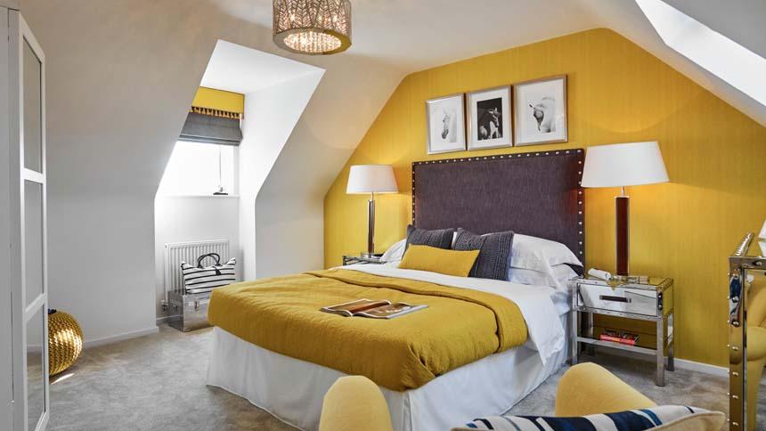 St Mary's Island bedroom 2