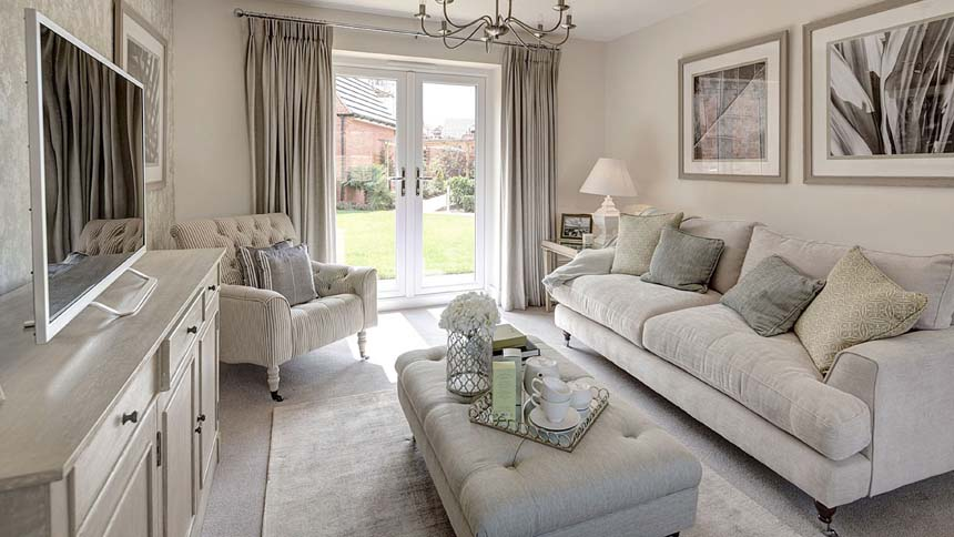 Buckton Fields living room