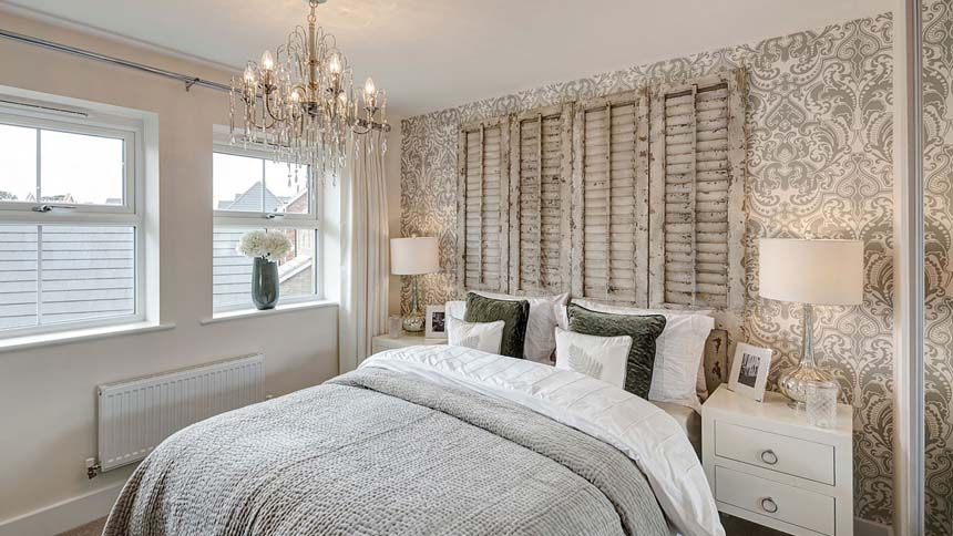 Buckton Fields master bedroom