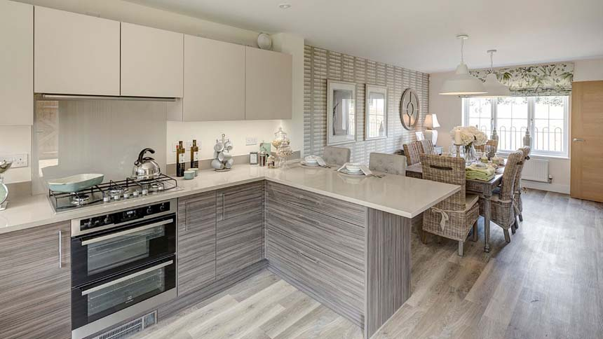 Buckton Fields kitchen (MG Homes)