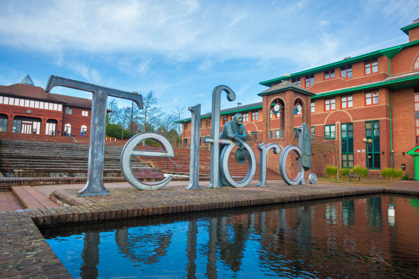 Telford sign
