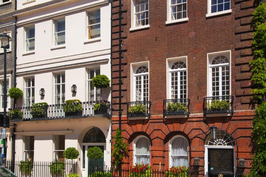 Mayfair houses