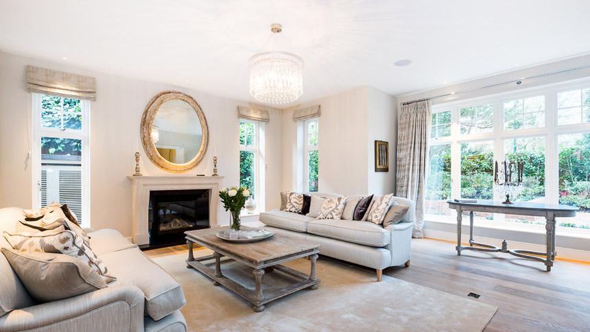 Walpole House drawing room
