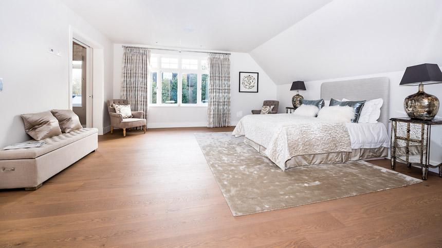 Walpole House master bedroom