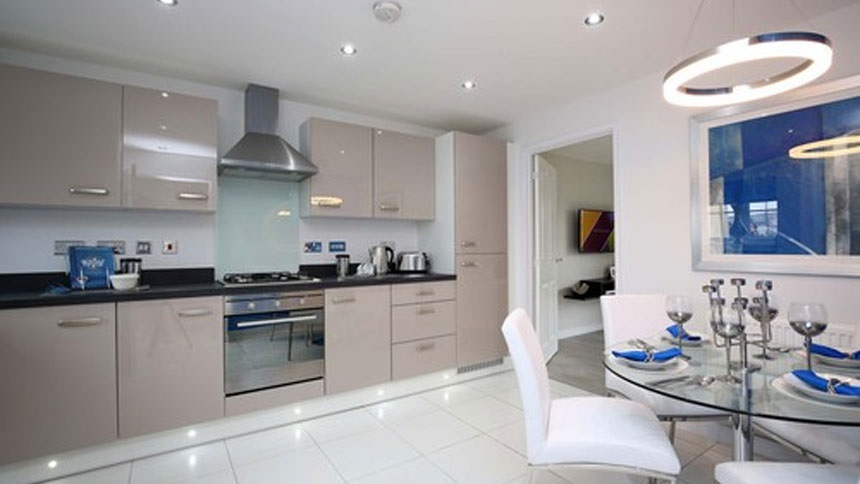 Show home kitchens from god 39 s own country for british for Perfect kitchen scarborough