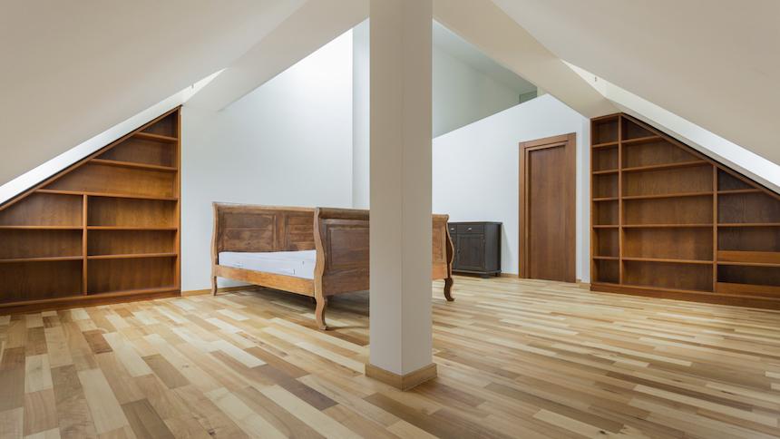 Utilise the attic space