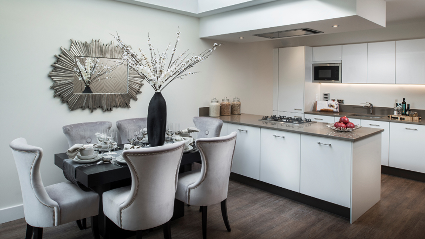 Barrington Garden's kitchen