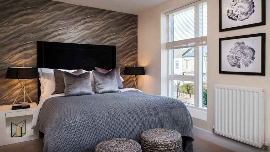 Barrington Garden's master bedroom