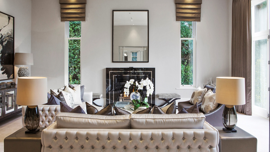 Falconwood House drawing room
