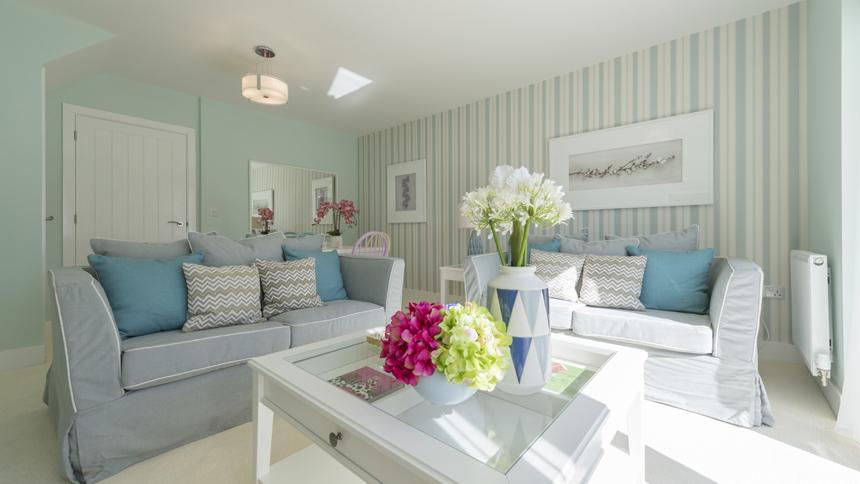 Edison House living room