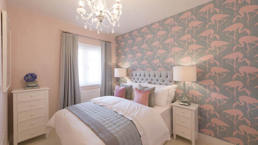 Edison House master bedroom