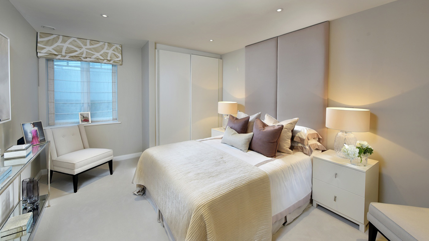 Hurlingham Walk bedroom