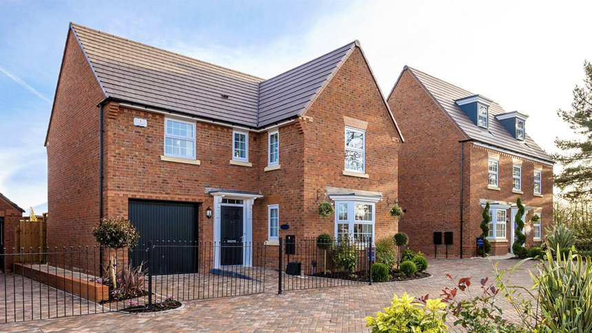 The Paddocks in Dickens Heath (David Wilson Homes)