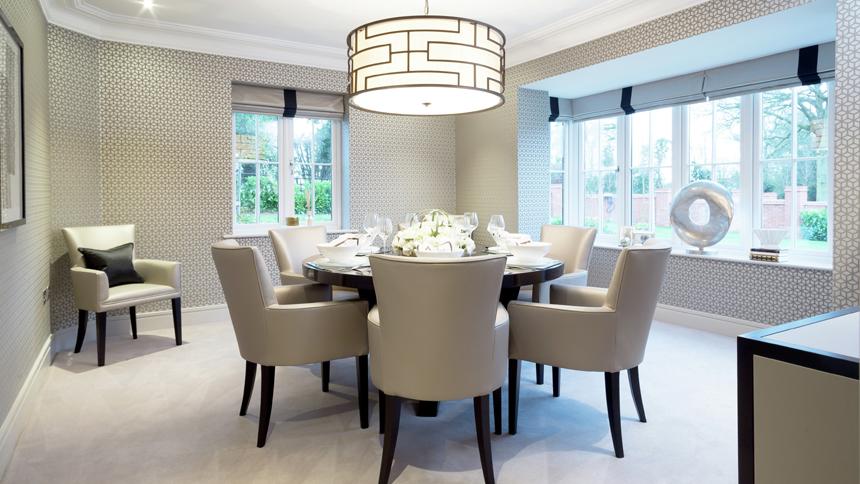 Hamilton Place dining room