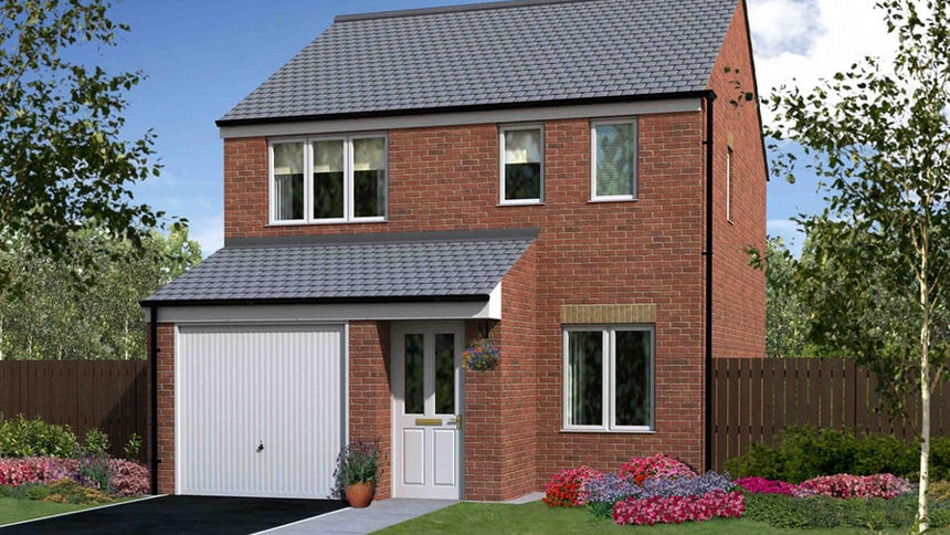 The Hawthorns, Hartlepool (Persimmon Homes)