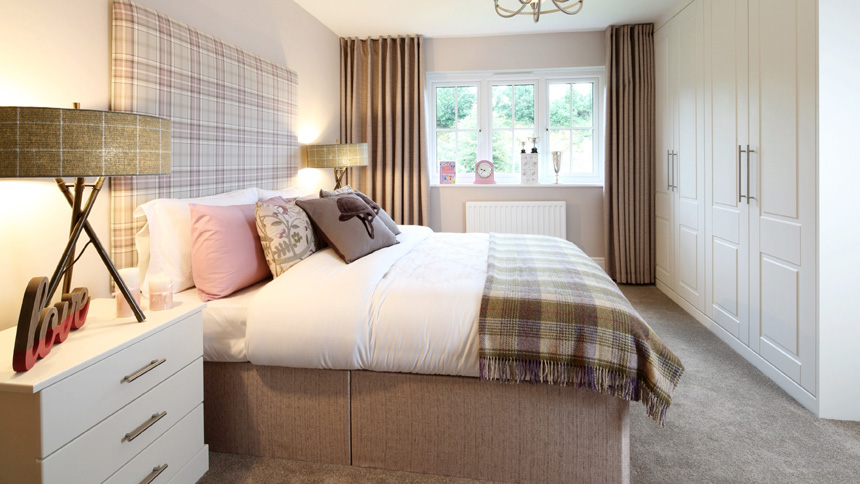 The Highgrove master bedroom
