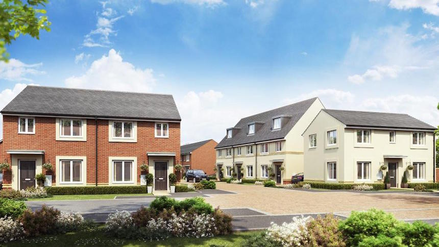 Taylor Wimpey @ Kings Down in Bridgwater, Somerset (Taylor Wimpey)