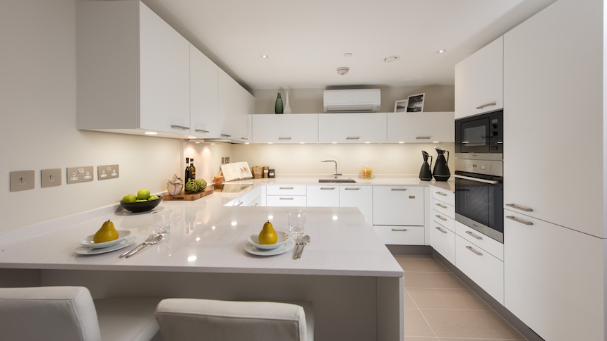 Battersea Place kitchen