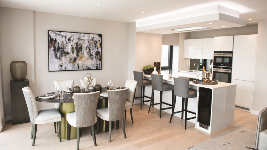 Show Home Room By Room Horizons Canary Wharf