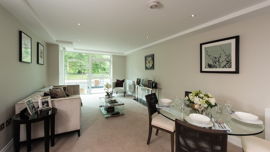 Battersea Place - living and dining