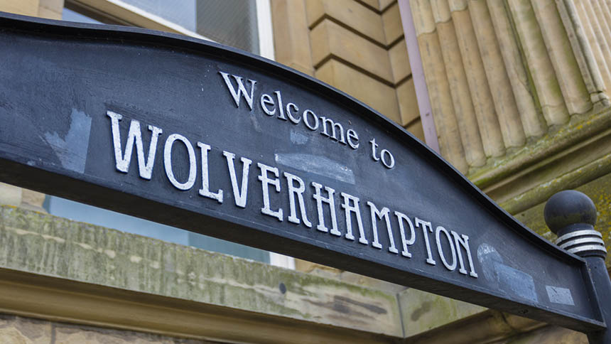Wolverhampton sign