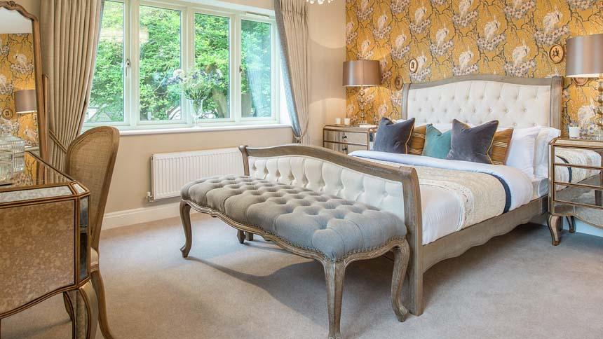 High Trees master bedroom (CALA Homes)