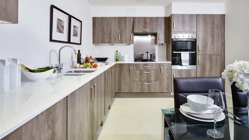 The Penn kitchen (Bellway Homes)