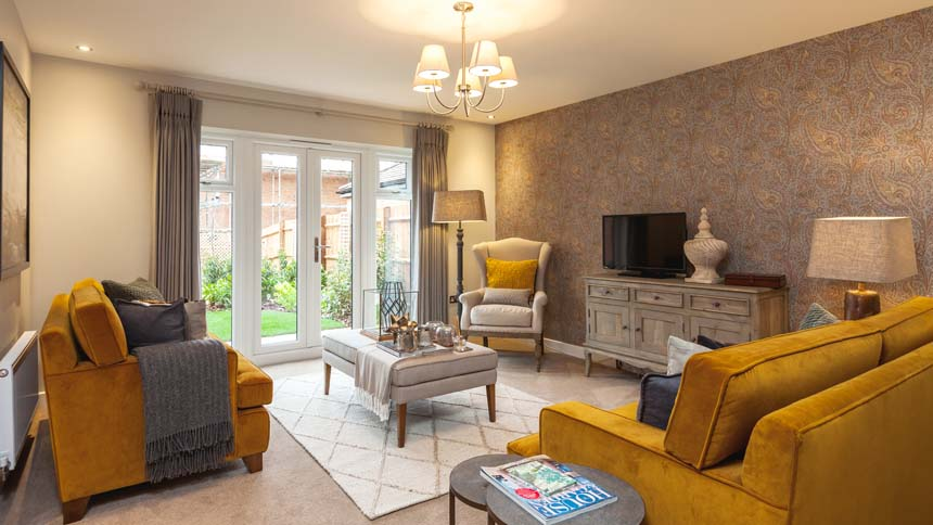 Prestbury Chase living room (Bloor Homes)