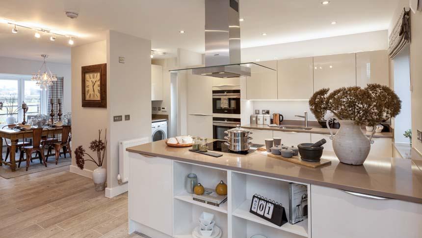 Prestbury Chase kitchen-dining room (Bloor Homes)