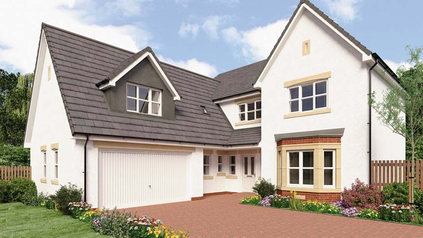 The Larches (Miller Homes)
