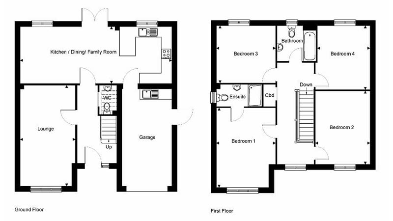 The Camber floorplan