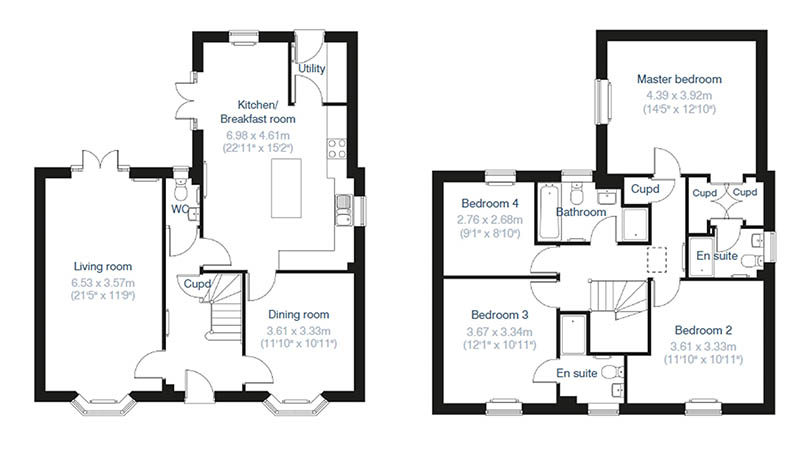The Whittlebury floorplan