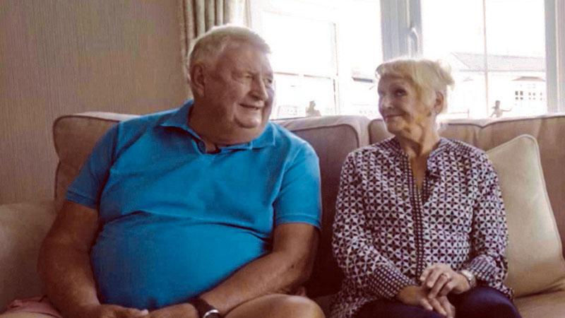 Colin and Joy