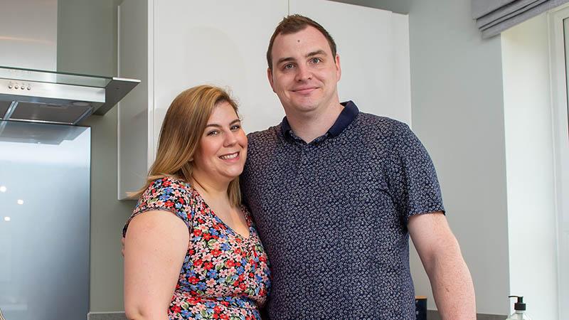 Emma Rowe and Gavin Hilliar