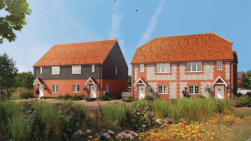 Burrington Estates development
