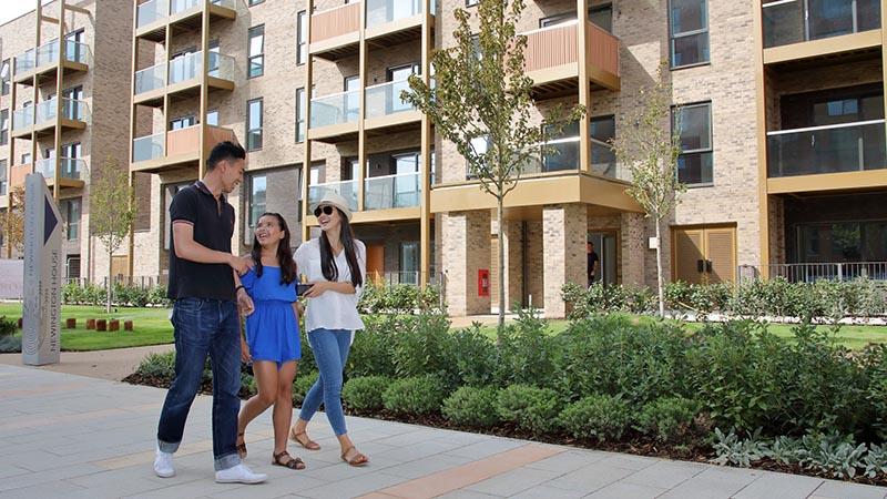 The Garden Apartments