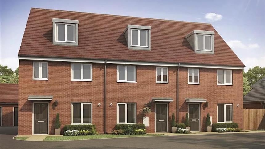 Mayberry Place from Taylor Wimpey