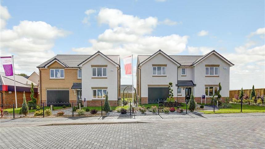 New Build Homes Larkhall