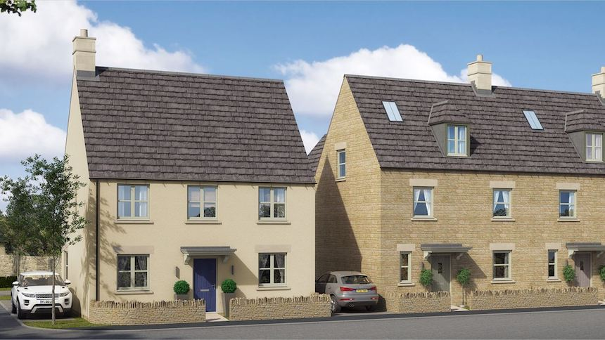 The Westwoods in Northleach (Freeman Homes)