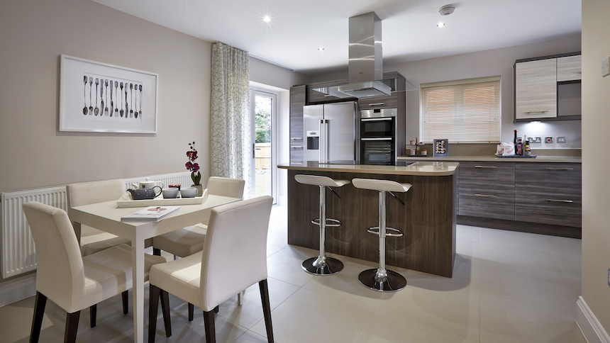 Strancliffe Gardens in Leicestershire (Barwood Homes)